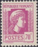 France 1944 Series d'Algiers (Cock of Alger and Marianne of Fernez) j