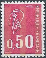 France 1971 Marianne de Béquet (1st Issue) b