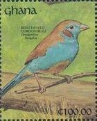 Ghana 1991 The Birds of Ghana zo