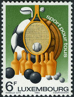 Luxembourg 1980 Sports for All a