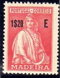 Madeira 1929 Ceres (London Issue) p