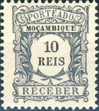 Mozambique 1904 Postage Due Stamps b