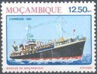 Mozambique 1981 Ships of Mozambique f