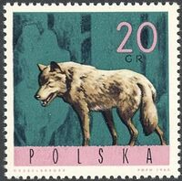 Poland 1965 Forest Animals a
