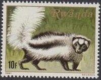 Rwanda 1981 Carnivorous Animals e