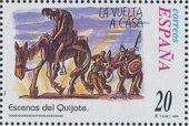 """Spain 1998 Scenes from """"Don Quixote"""" x"""