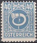 Austria 1945 Posthorn m