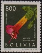 Bolivia 1962 Flowers f