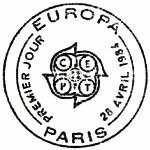 France 1984 EUROPA PMa