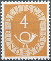 Germany, Federal Republic 1951 Posthorn and Numbers b.jpg