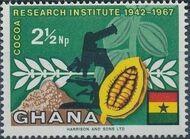 Ghana 1968 Ghana's Cocoa Production a