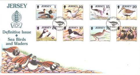 Jersey 1997 Seabirds and waders l
