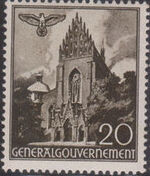 Poland-General Government 1940 Buildings (1st Group) e