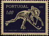 Portugal 1952 8th World Championship Hockey-on-Skates a
