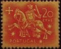 Portugal 1953 Definitives - Medieval Knight c.jpg
