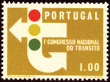 Portugal 1965 1st National Traffic Congress a