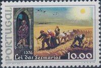 Portugal 1976 600th Anniversary of the Sesmarias Law c