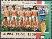 Sierra Leone 1990 Football World Cup in Italy i