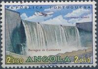 Angola 1965 Various Works and Airplane b