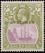 Ascension 1924 Seal of the Colony s