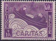 Belgium 1927 Anti Tuberculosis - Boat Adrift c