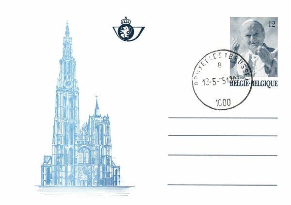 Belgium 1985 Visit of Pope John Paul II PCf