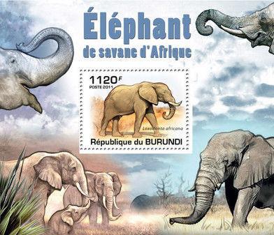 Burundi 2011 Elephants of the African Savanna SSd