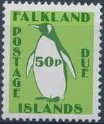 Falkland Islands 1991 Penguins (Postage Due Stamps) h