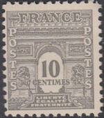 France 1944 Arc of the Triomphe - Allied Military Government b