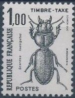 France 1982 Insects - Postage Due Stamps (1st Issue) d