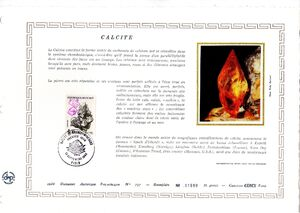 France 1986 Minerals FOLk