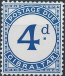 Gibraltar 1956 Postage Due Stamps c