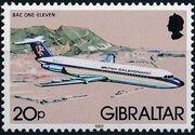 Gibraltar 1982 Airplanes j