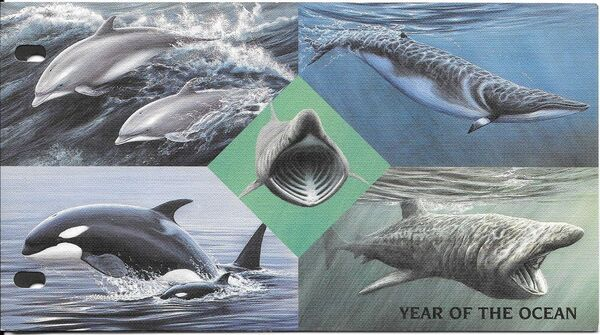 Isle of Man 1998 Year of the Ocean - Marine Mammals pp