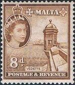 Malta 1956 Elizabeth II j
