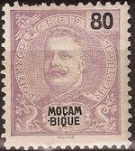 Mozambique 1898 D. Carlos I i