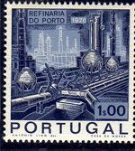 Portugal 1970 Opening of the Oil Refinery in Porto a
