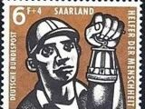 Saar 1957 For Welfare Organizations (Coal Mining)