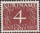 Surinam 1948 Numerals f