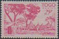 Togo 1947 Native Scenes r