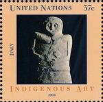 United Nations-New York 2004 Indigenous Art c