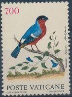 Vatican City 1989 Birds from Eleazar Albin Engravings f