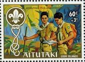 Aitutaki 1983 75th Anniversary of Scouting (Semi-Postal Stamps) c