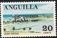 Anguilla 1969 Independence k