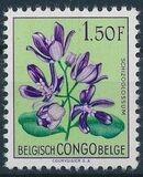 Belgian Congo 1952 Flowers j