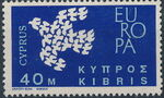 Cyprus 1962 EUROPA - CEPT b