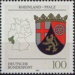 Germany, Federal Republic 1993 Coat of Arms of the Federal States of Germany (2nd Group) e
