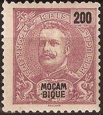 Mozambique 1898 D. Carlos I l