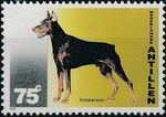 Netherlands Antilles 1995 Dogs a