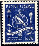 Portugal 1945 100th Anniversary of the Maritim School d